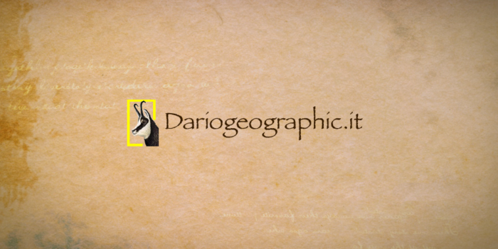 Dariogeographic.it è Operativo