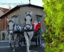 L'arrivo del Babbo Natale