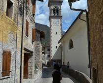 Il campanile di Erto S.Bartolomeo